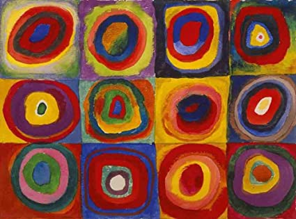 Amazon Com Jh Lacrocon Color Study Squares With Concentric