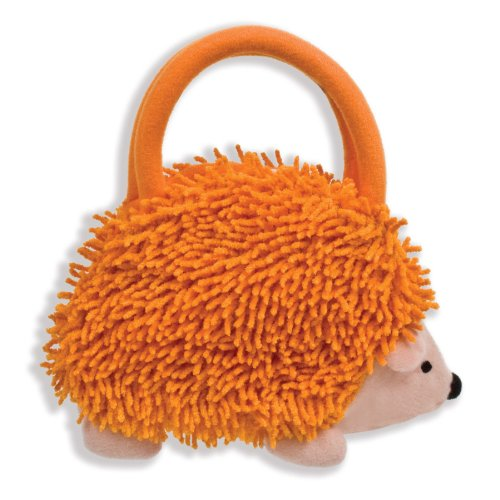 North American Bear Company Hedgehog Goody Plush Bag, Orange - North American Bear Handbag