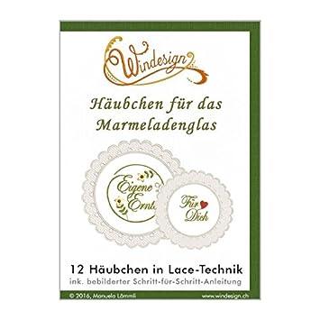 Windesign Stickmuster-Vorlagen CD -- Motiv Häubchen fürs ...