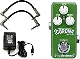 TC Electronic Mini Corona Chorus Effects Pedal w/ Power Supply and Patch Cables