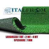 Prato Sintetico 7 mm H 2X18mt - Finta Erba Tappeto Giardino Calpestabile