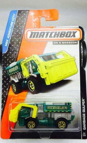 Matchbox 2014 MBX Adventure City Garbage Gulper  98/120,