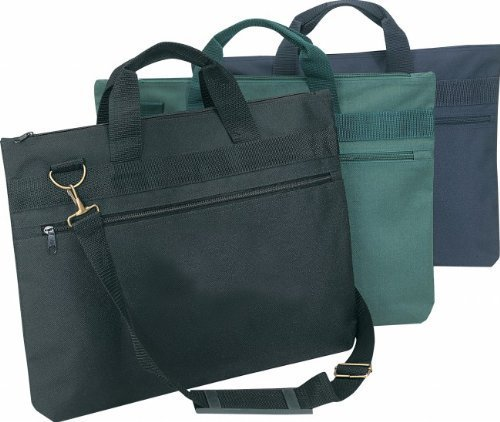 Light Weight Simple Conference Document Bag- NAVY BLUE