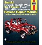 [ Suzuki Samurai/Sidekick/X-90 & Geo & Chevrolet Tracker: 1986 Thru 2001: All 4-Cylinder Models ] By Mahoney, Nancy Harold ( Author ) [ 2001 ) [ Paperback ]