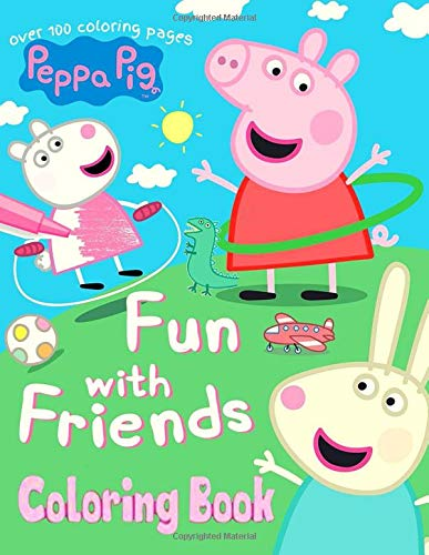 Peppa Pig Coloring Book More Than 100 Coloring Pages For All Peppa Pig Lovers Tyl James 9798649234696 Amazon Com Books