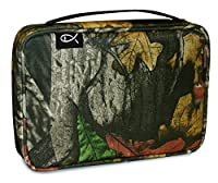 Divinity Boutique Bible Cover Gray Forest Camo - Medium (21768)