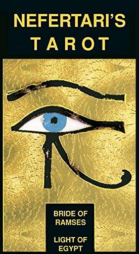 Nefertari's Tarot: 78 full Colour Tarot Cards and Instruction Booklet Silvana Alasia Pietro Alligo Lo Scarabeo EX21