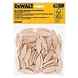 DEWALT DW6800 No. 0 Size Joining Biscuits (75 Pieces)