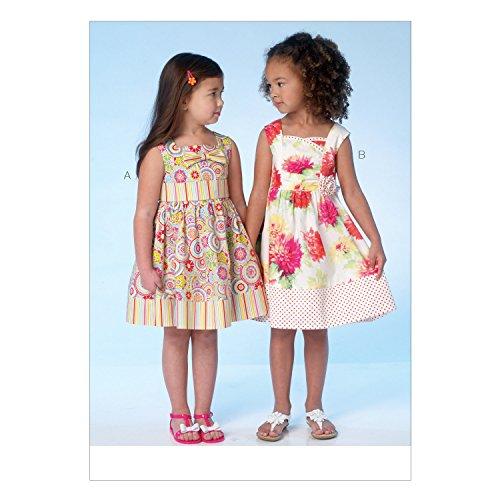 KWIK-SEW PATTERNS K4096 Children's/Girls' Dresses, All Sizes in One Envelope (XXS - L) (Sew Princess Dress)