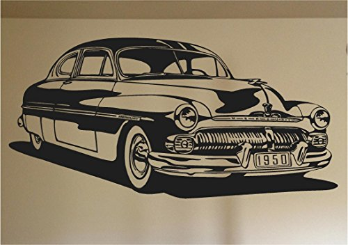 1950 Mercury Car Auto Wall Decal Stickers Murals Boys Room Man Cave