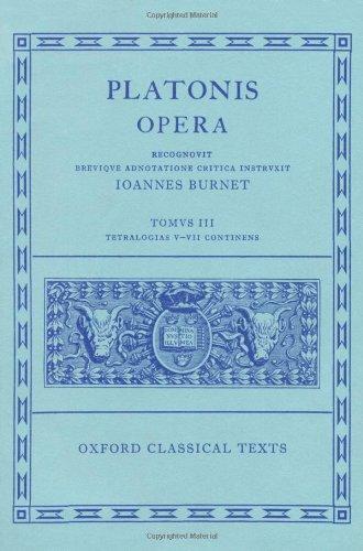 Opera Vol. III (Oxford Classical Texts)