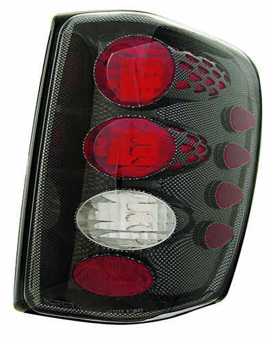 IPCW CWT-CE5002CF Crystal Eyes Carbon Fiber Tail Lamp - Pair - Eye Tail Light Carbon Fiber