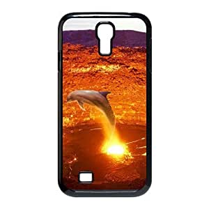 Cool PaintingFashion Cell phone case Of Dolphin Bumper Plastic Hard Case For Samsung Galaxy S4 i9500