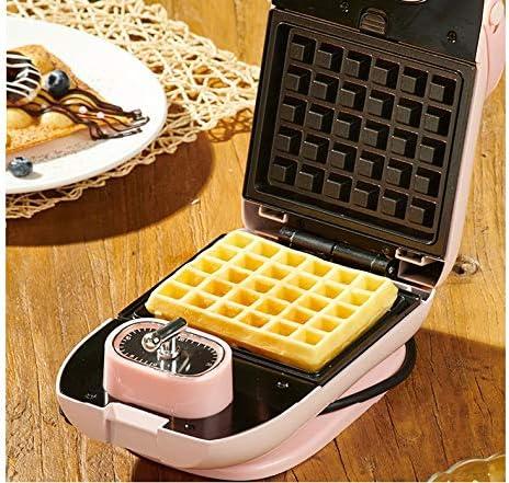 LQ-3003A Pink Color Intexca Electric Waffle Maker Iron Sandwich ...