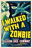 Old Movie Poster 12 x 18 I Walked With A Zombie (Rko, 1943