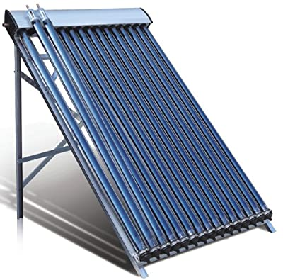 Duda Solar Water Heater Collectors SRCC - Choose Number of Tubes & Stand Type