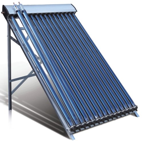 Duda Solar 30 Tube Water Heater Collector 45° Frame Evacuated Vacuum Tubes SRCC Certified Hot