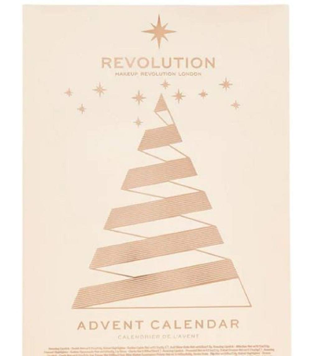 Exclusive New Make Up Revoultion Beauty Advent Calendar