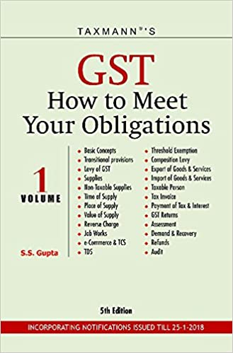 GST How to Meet Your Obligations (Set of 2 Volumes) (5th Edition 2018)