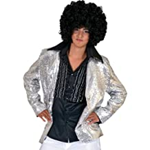 Disco Jacket Silver Adult (Small)