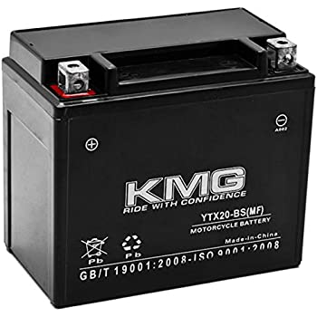 KMG YTX20 BS Battery For Arctic Cat Pantera 1999 2001 Sealed Maintenace Free 12V