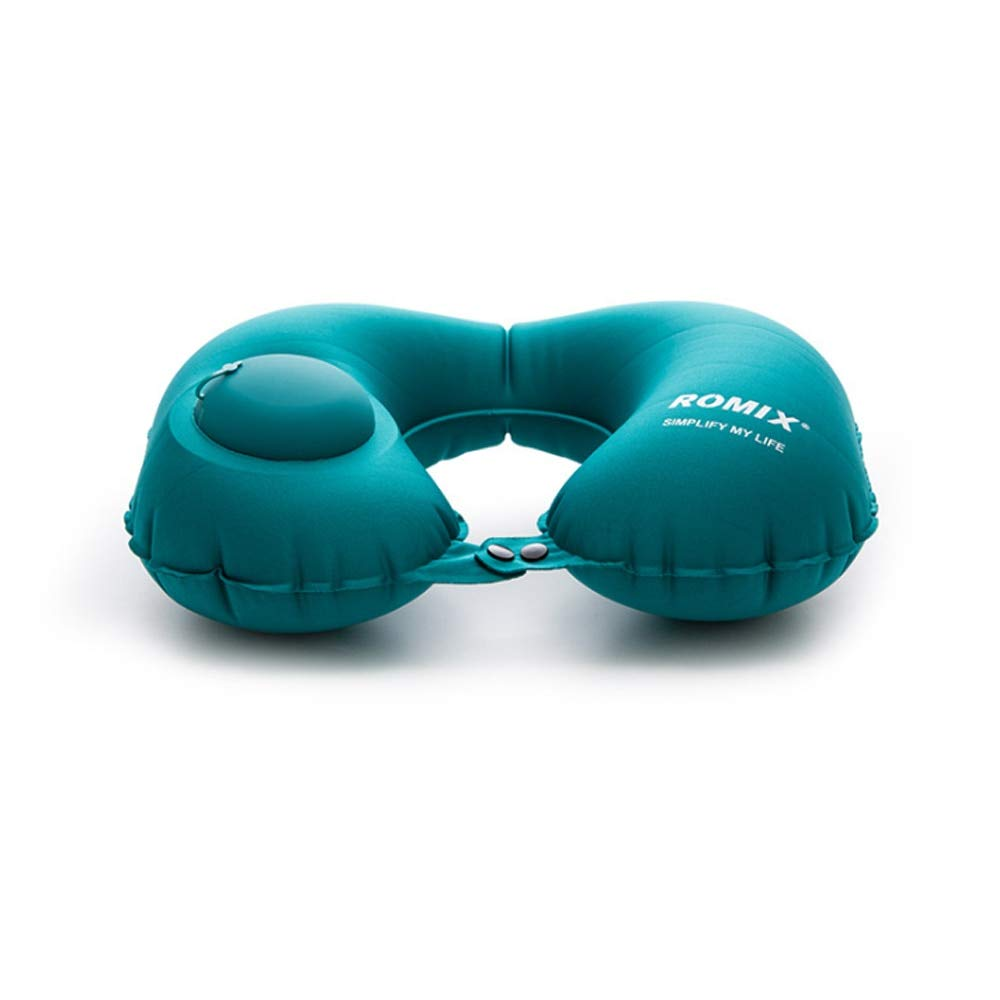 WZ YDTH 1pc Inflatable Neck Pillow Travel U-Shaped Air Pillow Pillow Rest Portable Head Pillow in Flight Pad Multi-Color by WZ YDTH