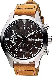 Timberland Watch Reloj Analógico para Hombre de Cuarzo con Correa en Cuero  TBL.14322JS  c6773f542590