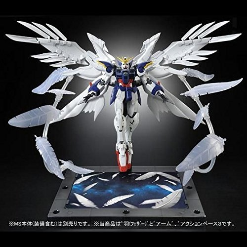 """RG 1/144 Wing Gundam Zero EW for expansion effects unit """"Seraphim Feather"""" from Bandai"""