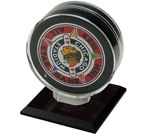 Polynex Inc Generic League General Hockey Puck Acrylic Base, Clear, One Size