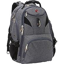 """SwissGear Travel Gear 5977 Scansmart TSA Laptop Backpack for Travel, School & Business - Fits 17"""" Laptop - (Grey)"""