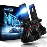 NINEO H7 LED Headlight Bulbs | CREE Chips 12000Lm 6500K Extremely Bright All-in-One Conversion Kit | 360 Degree Adjustable Beam Angle: more info