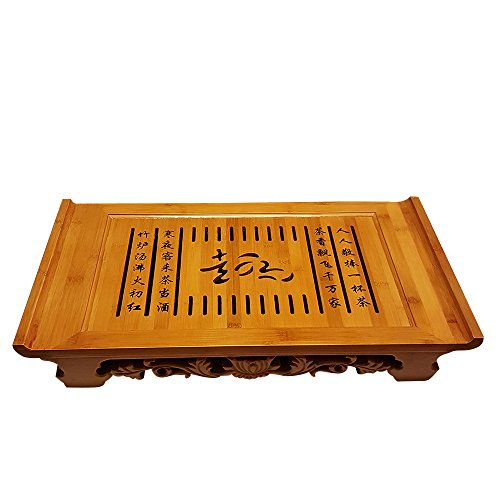Bamboo GongFu Tea Serving Tray L21