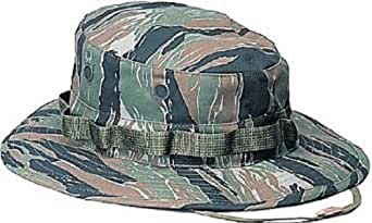Tiger Stripe Camouflage Military Boonie Hat 5816 Size Small