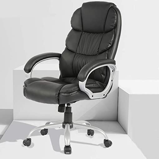 Leather Chair Big and Tall Office Chair Review