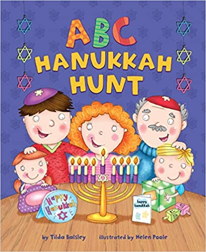 ABC Hanukkah Hunt Book Cover