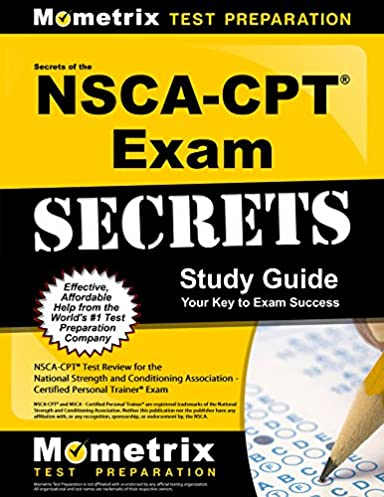 Cpt test study guide 2015 ebook array secrets of the nsca cpt exam study guide nsca cpt test review for rh fandeluxe Image collections