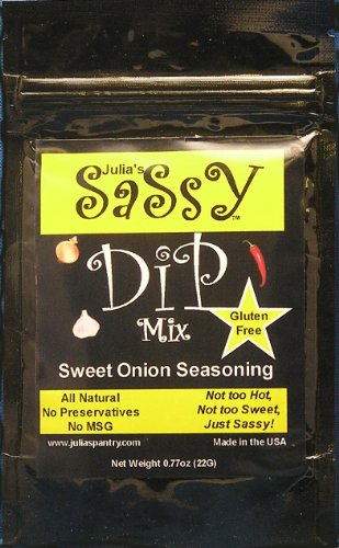 Julia's Sassy Dip Mix Sweet Onion Pack of 4