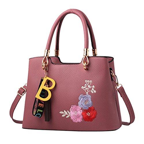 Pastèque Mode Femme Sacs Fleur Glands Cabas À Rouge Portatifs Jiangfu Sac Messager Bandoulière Main 7BdCwxBq