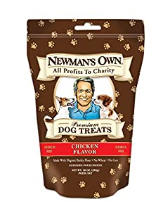 Newman's Own Organics Premium Dog Treats ( Pack of 6 )