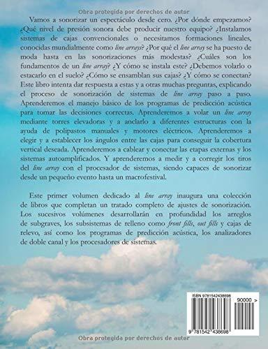 El line array: Tratado completo de ajustes de sistemas de sonorización (Volume 1) (Spanish Edition): José Martí Faus: 9781542438698: Amazon.com: Books