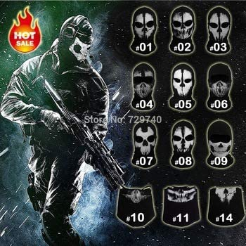 Call Of Duty 10 Cod Balaclava Logan Ghost Skull Face Mask Buy