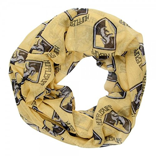 Harry Potter House Hufflepuff Yellow Viscose (Hufflepuff House Scarf)