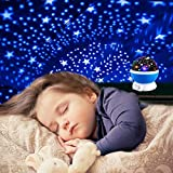 Star Night Lights for Kids, Star Light Lamp Rotating Projector 360 Degree Romantic Rotating Cosmos Star Projector for Kids Toys for Boys Girls 3 4 5 6-12 Year Old Girls Boys Gifts Christmas Gifts Blue