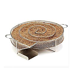 Best Quality Other Bbq Tools Cold Smoke Generator Bbq Grill Accessories 8 07 Inch Stainless Steel Round Smoker Apple Small Wood Chips Grill Bacon Meat Fish By Seedworld 1 Pcs