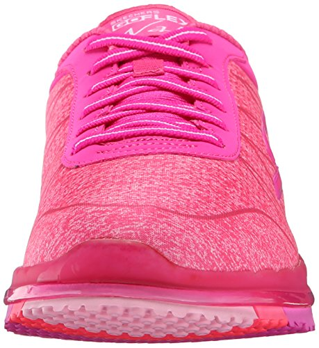 Femme Ability Baskets Rose rose Foncé Go Flex Basses Skechers p1gXnX
