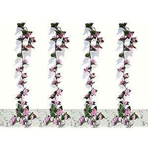 Neuhaus Decor 4 x 6ft Azalea Garlands, Artificial Plants 9