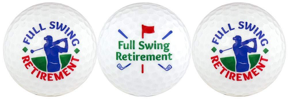Retirement w/Golfer Golf Ball Gift Set by EnjoyLife Inc