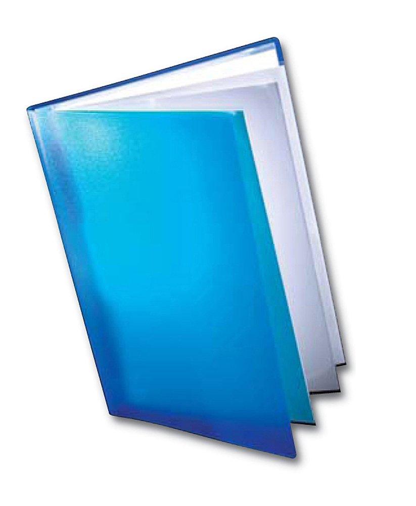 Dekko Carpeta clasificadora color azul,10 unidades tama/ño A2, admite recambios