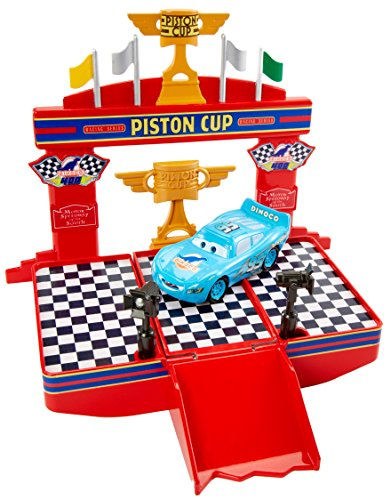 Disney/Pixar Cars Wheel Action Drivers Race & Win ()