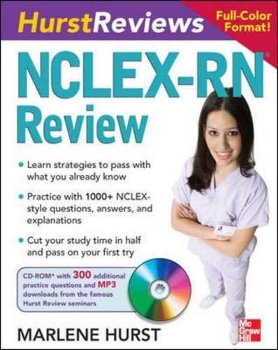 Hurst Reviews NCLEX-RN Review
